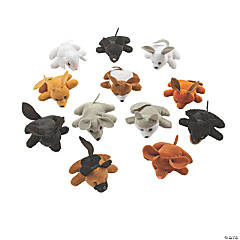 "4"" Mini Stuffed Dog Pound Assortment"