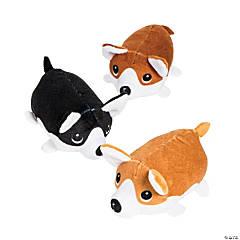 "4"" Roly-Poly Stuffed Corgi Dogs"