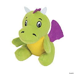 "4"" Stuffed Dragons"