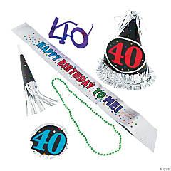 40th Birthday Celebration Kit