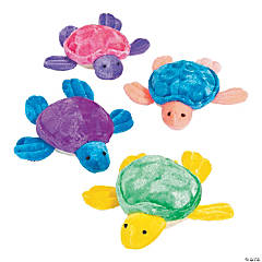 "5.25"" Stuffed Sea Turtles"
