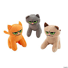 "5.5"" Cranky Stuffed Cats"