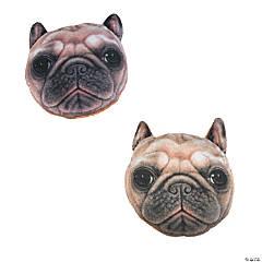 "5.5"" Plush Pug Dogs"