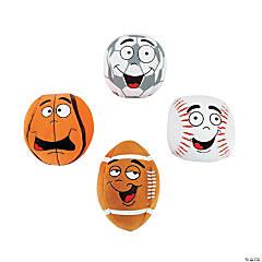 "5"" Character Plush Sports Balls"