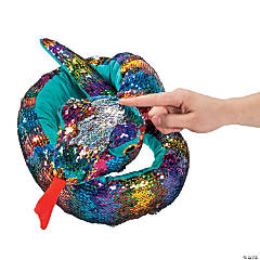 5 Ft. Flipping Sequins Stuffed Snake