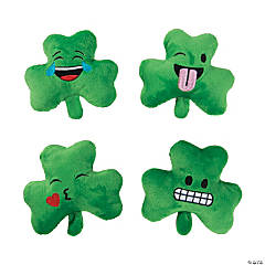 "5"" St. Patrick's Day Plush Emojis"