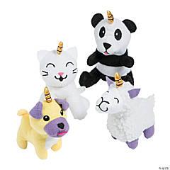 "5"" Stuffed Anicorn Characters"