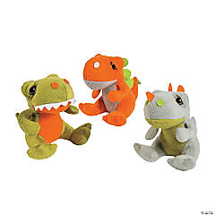 "5"" Stuffed Dinosaurs"