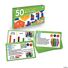 50 Link Cube Activities (Activity Cards Set)