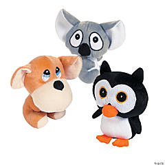 "6"" Big Head Stuffed Animals"