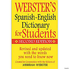 (6 Ea) Websters Spanish English
