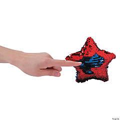 """6"""" Flipping Sequins Plush Patriotic Stars"""