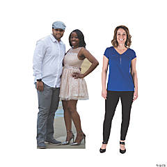 6 Ft. Custom Photo 2-Person Cardboard Stand-Up
