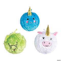 "6"" Inflatable Plush Mythical Balls"