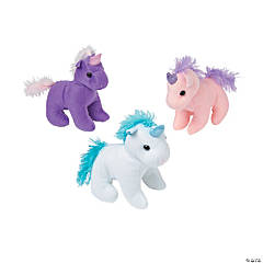 "6"" Stuffed Unicorns"