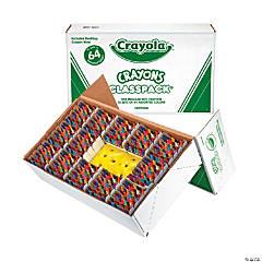 64-Color Crayola® Crayons Classpack