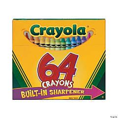 64-Color Crayola® Crayons