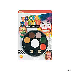 7-Color Face Paint Tray