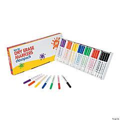 7-Color Fine Tip Dry Erase Markers Pack