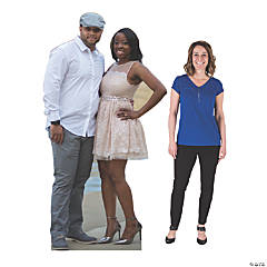 7 Ft. Custom Photo 2-Person Cardboard Stand-Up