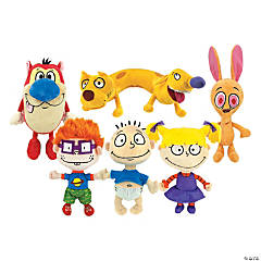 "7"" Nickelodeon® 90s Stuffed Character"