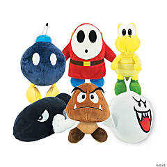 """7"""" Nintendo® Stuffed Villain"""