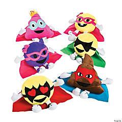 "7"" Plush Emoji Superheroes"