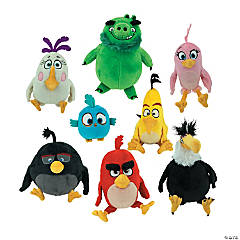 "7"" Stuffed Angry Birds™ The Movie"