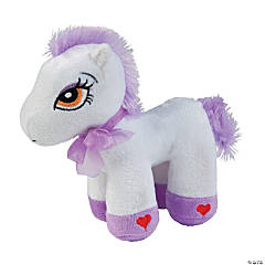 "7"" Stuffed Pony"