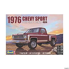 '76 Chevy Sport Stepside Pickup 4x4 Plastic Model Kit