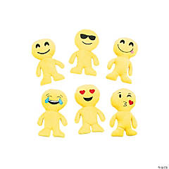 "8.5"" Plush Emoji Man Assortment"