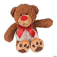 """8.75"""" Stuffed Cuddling Bear"""