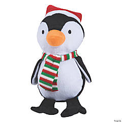 "8"" Christmas Stuffed Penguin"