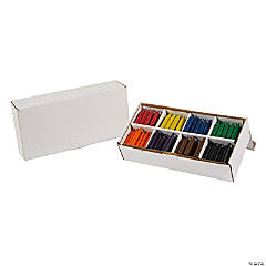 8-Color Chubby Crayons Classpack - 200 Pc.