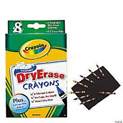 8-Color Crayola® Dry Erase Crayons