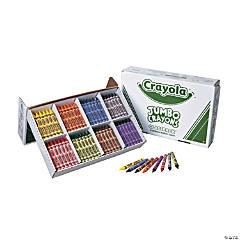 8-Color Crayola® Jumbo Crayons Classpack® - 200  Pc.