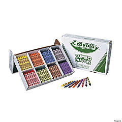 8-Color Crayola® Jumbo Crayons Classpack®