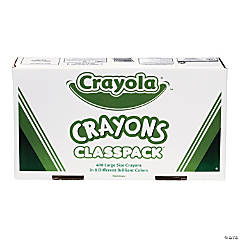 8-Color Crayola® Large Crayons Classpack - 400  Pc.