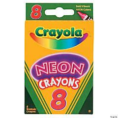 8-Color Crayola® Neon Crayons