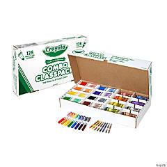 8-Color Crayola® Broad Line Marker & Crayon Combo Classpack® - 256 Pc.