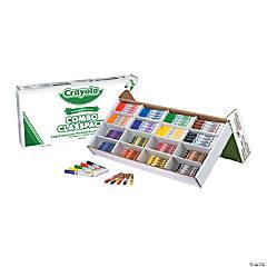 8-Color Crayola® Crayon & Marker Combo Classpack® - 256 Pc.