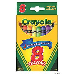 8-Color Crayola® Crayons - 12 Boxes