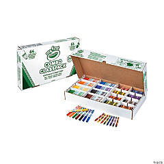 8 Color Crayola® My First Crayons & Markers Classpack® - 128 Pc.