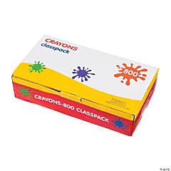8-Color Crayon Classpack - 800  Pc.