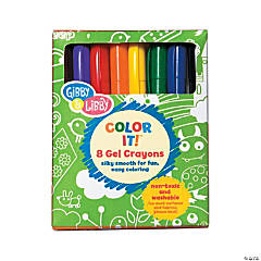 8-Color Gibby & Libby™ Gel Crayons