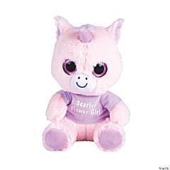 """8"""" Personalized Stuffed Unicorn"""