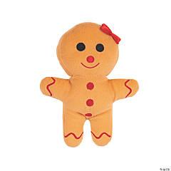 """8"""" Plush Gingerbread Girl"""