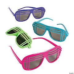 b6452cd6b18 80s Neon Sunglasses - 12 Pc.