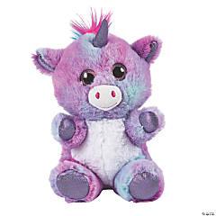 """9"""" Roxy Mohawk Stuffed Unicorn"""