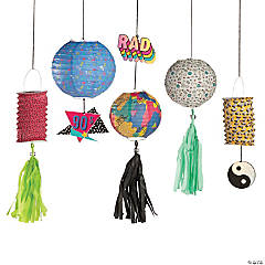 90s Hanging Paper Lanterns